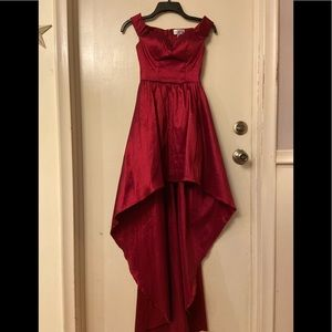 Red Homecoming/Prom dress